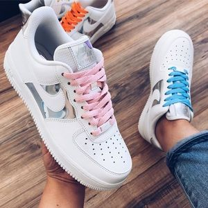 nike air force 1 customized lace